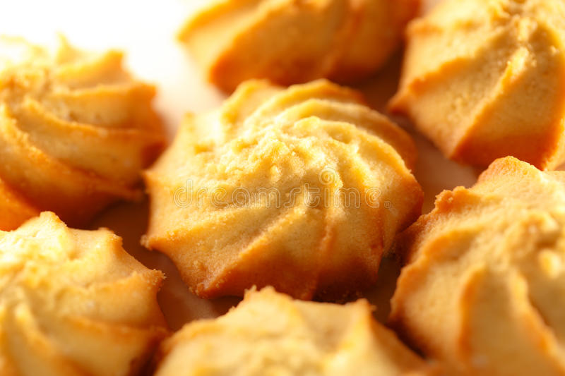 Biscuits frais photographie stock