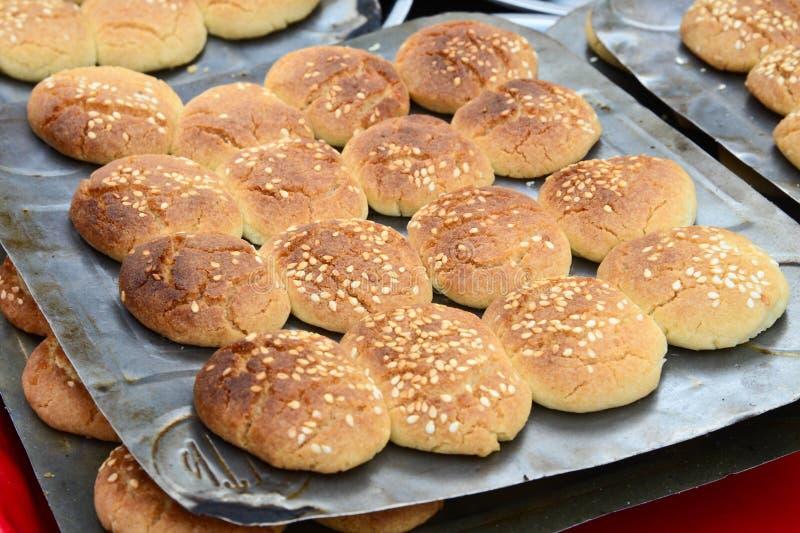 Biscuits indiens frais photos libres de droits