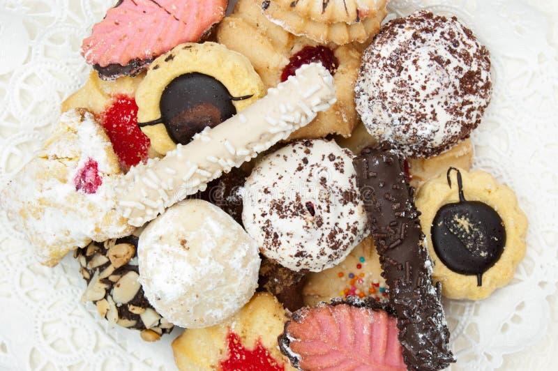 Biscuits italiens image libre de droits