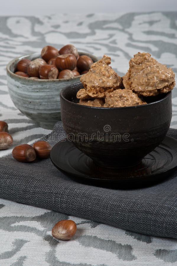 Biscuits italiens image stock