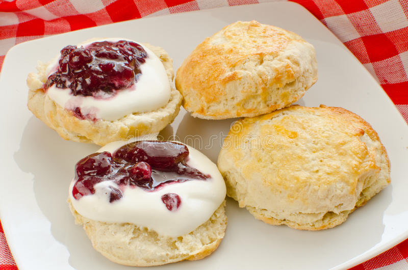 Download Biscuits with jam stock image. Image of tasty, cream - 23852215