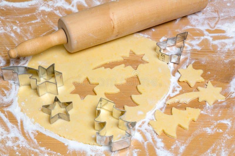 Biscuits pour Noël photo libre de droits
