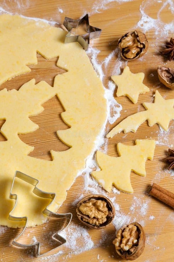 Biscuits pour Noël image libre de droits
