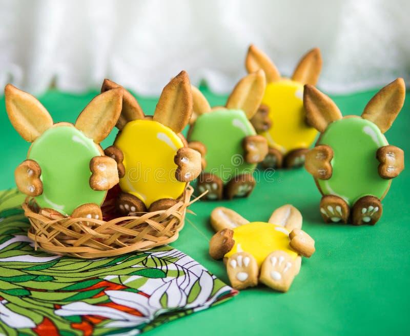 Biscuits pour Pâques photos libres de droits