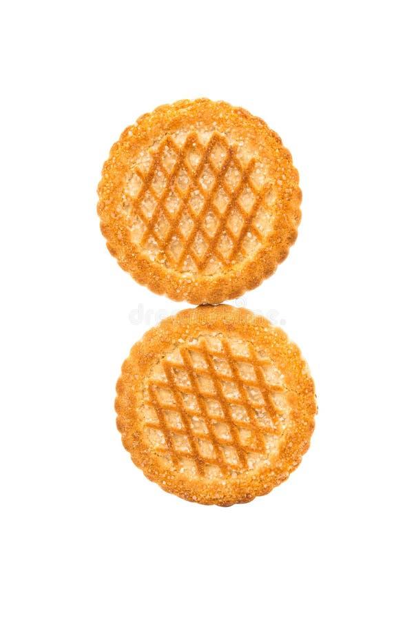 Biscuits ronds photo libre de droits