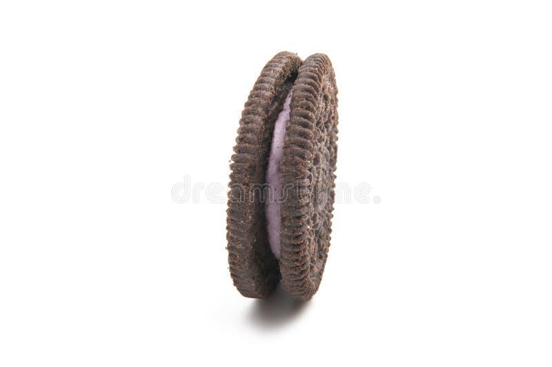 Biscuits ronds d'Oreo images libres de droits