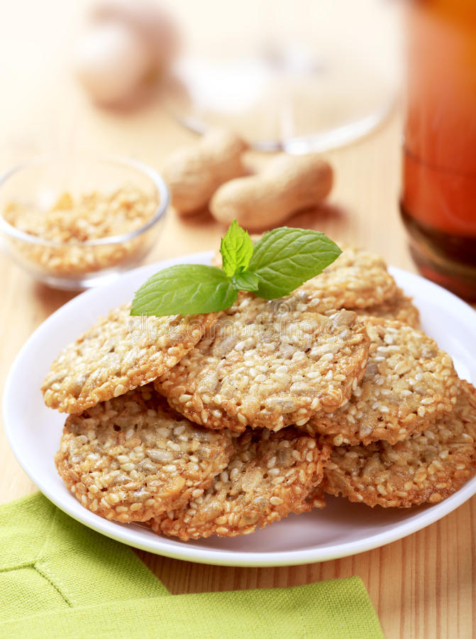 Biscuits sains image stock