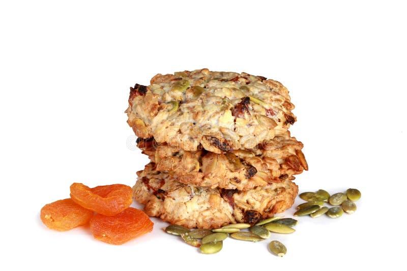 Biscuits sains faits maison faits main avec les ingrédients qui respecte l'environnement photographie stock