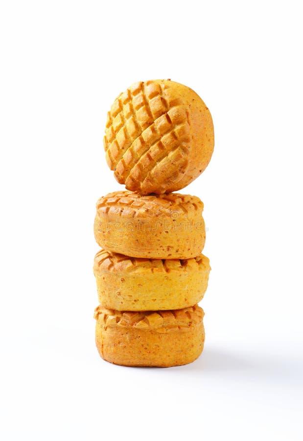 Biscuits savoureux image libre de droits