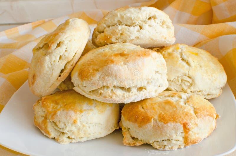 Biscuits (scones) photos libres de droits