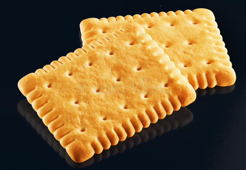 Biscuits simples photographie stock