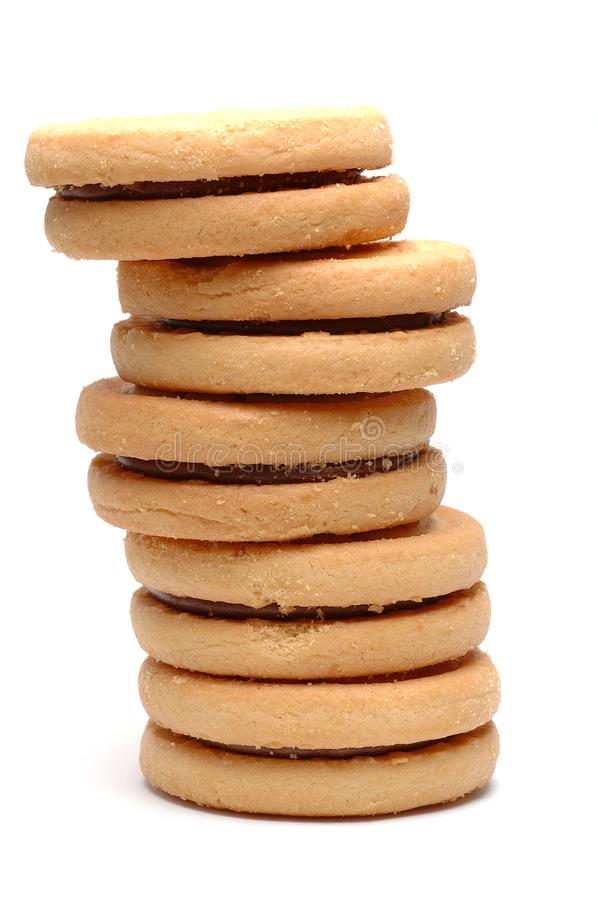 Biscuits Stack Stock Photos