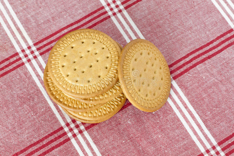 Download Biscuits on a tablecloth stock photo. Image of biscuits - 26749842