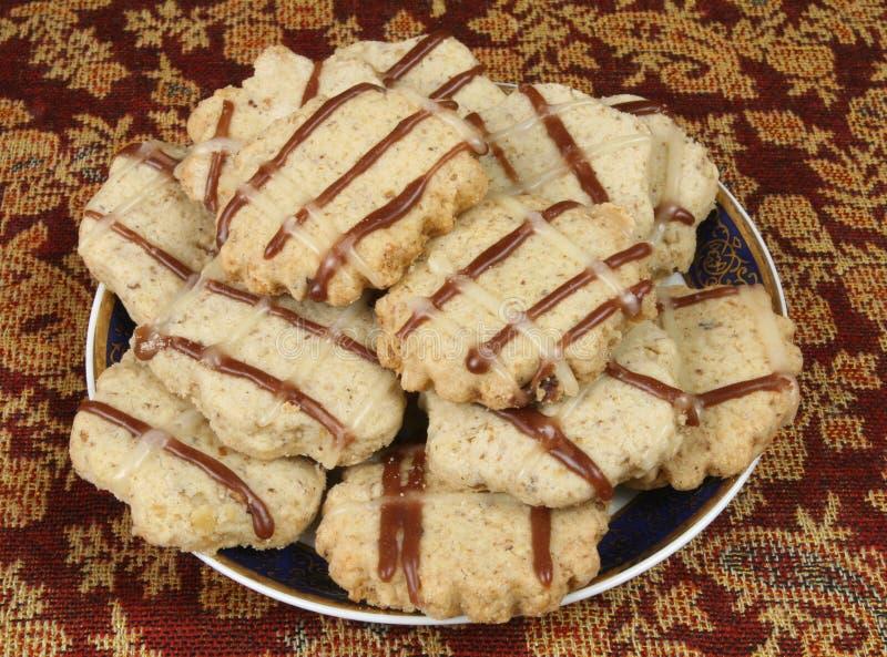 biscuits walnut στοκ φωτογραφία