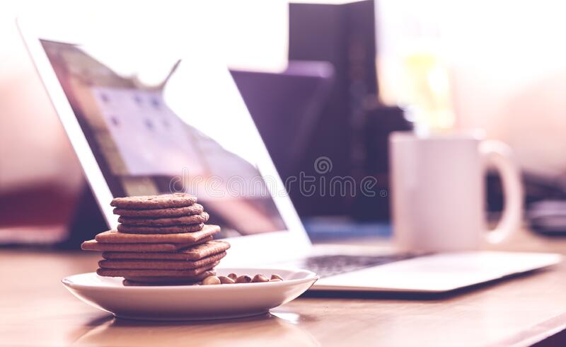 Biscuits In White Saucer Free Public Domain Cc0 Image
