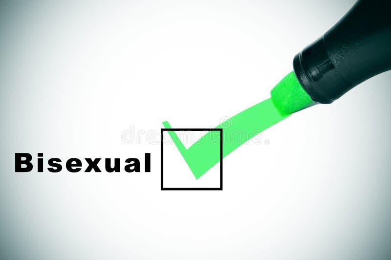 Biseksueel stock foto
