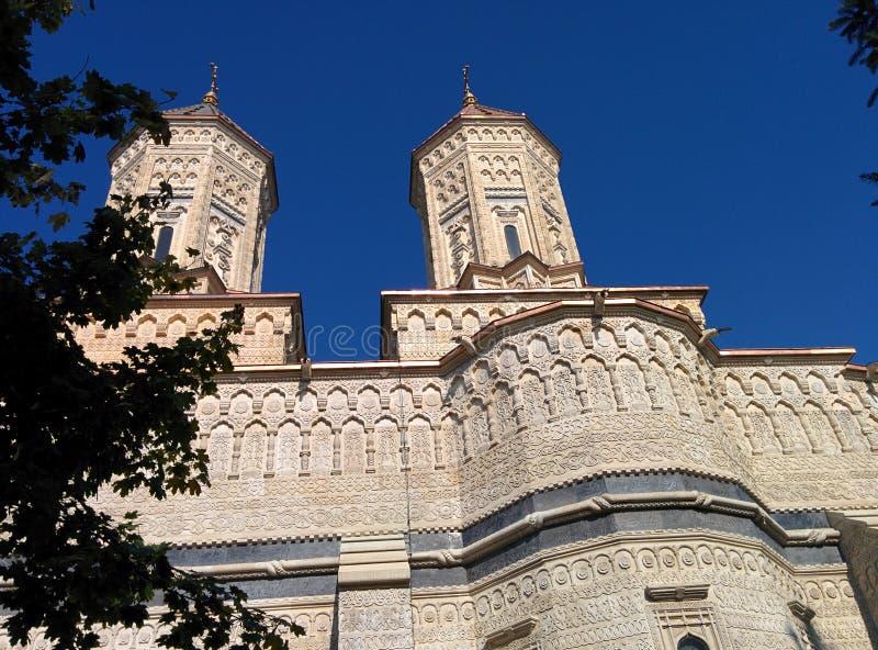 Biserica Trei Ierarhi in Iasi stock afbeeldingen