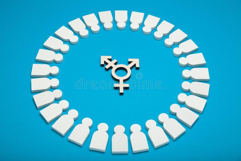 Bisexualit? et concept d'activisme de transsexuel image stock