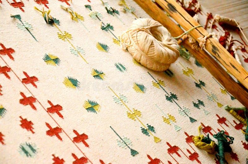 Bishnoidekens en tapijten, India royalty-vrije stock afbeelding