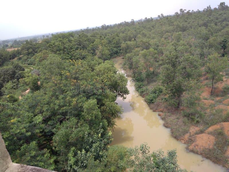 Bishnupur湖 免版税库存照片