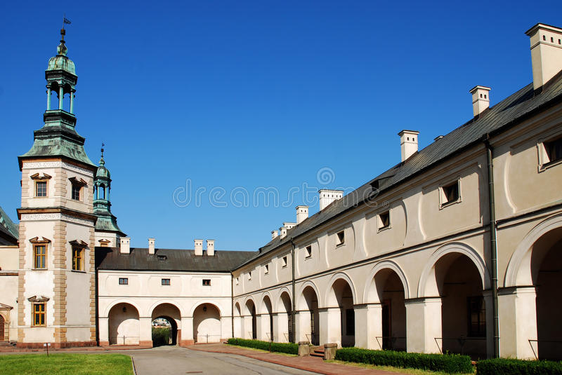 Bishop `s Palace in Kielce. Poland. Old Bishop `s Palace in Kielce. Poland stock photos