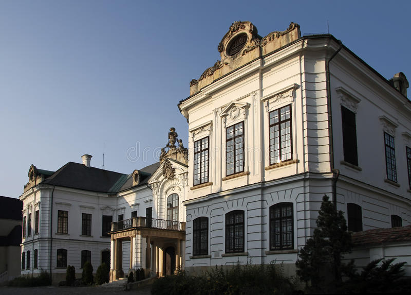 Bishop `s Palast in Veszprem lizenzfreie stockfotografie