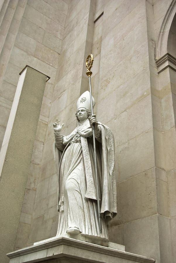 Bishop Statue Royalty Free Stock Photo