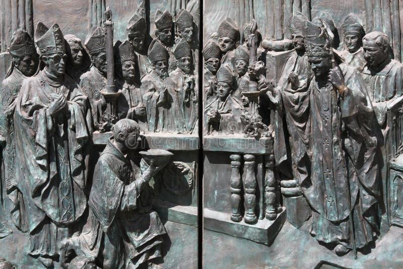 Bishops imagem de stock