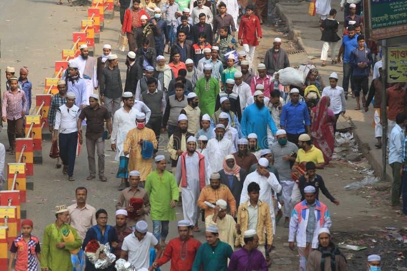 Bishwa Ijtema przy Tongi, Bangladesz zdjęcia stock