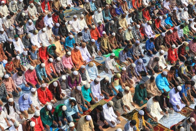 Bishwa Ijtema przy Tongi, Bangladesz zdjęcie royalty free
