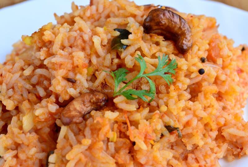 Bisi belle bhaat - Karnataka ryż przygotowanie obrazy royalty free