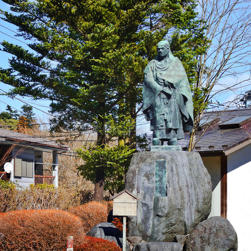 Biskop Tenkai royaltyfri bild