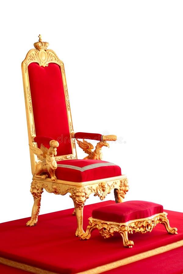 biskopsstol royaltyfri foto