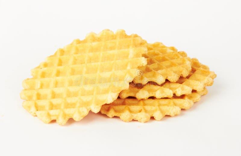 Biskuit-Plätzchen stockbild