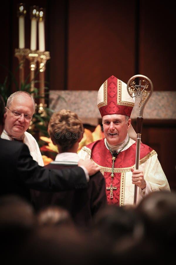 biskupa Chicago Francis kane zdjęcia royalty free