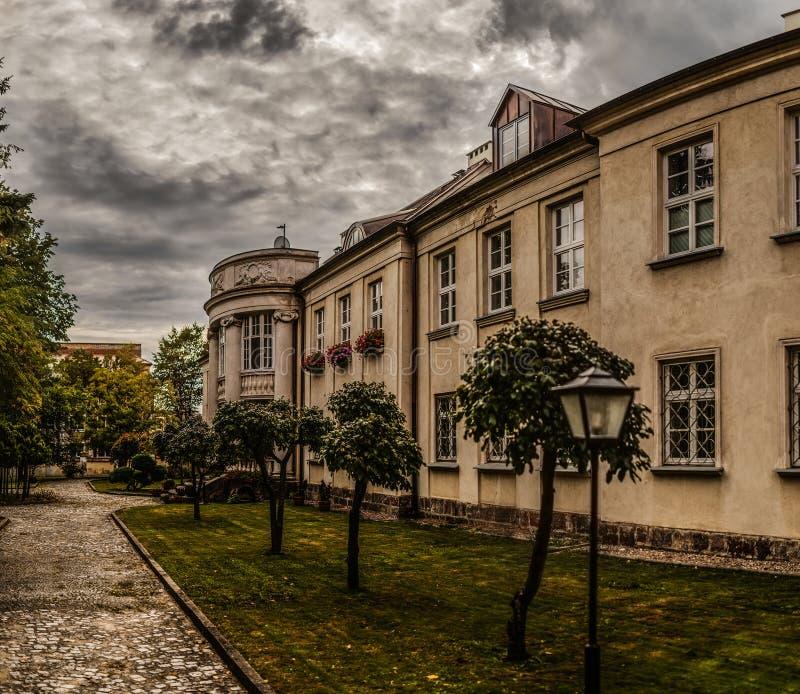 Biskupa pałac w łomży, Polska fotografia royalty free