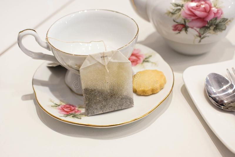 biskwitowa herbatę obraz stock