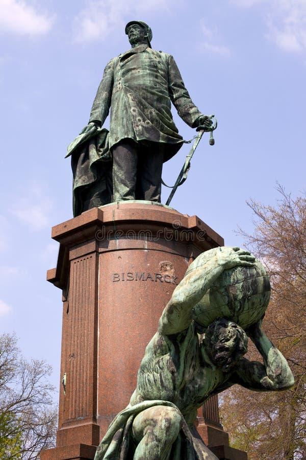 Bismarck-Denkmal stockbild