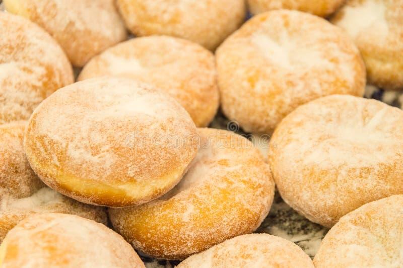 Bismarck Donuts royalty-vrije stock fotografie