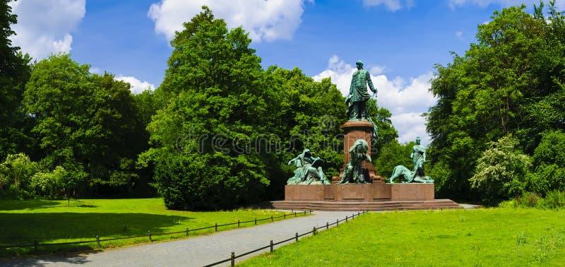 Bismarck memorial Berlin royalty free stock image
