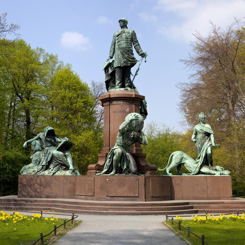 Download Bismark Memorial In Berlin's Tiergarten Royalty Free Stock Photo - Image: 25380215