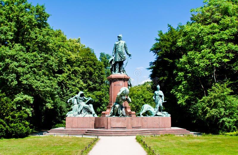 Bismark zabytek w Berlin obraz royalty free