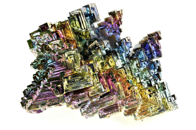 Bismuth royalty free stock photography
