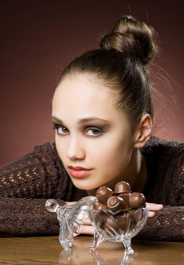 Bisogni del cioccolato. fotografie stock