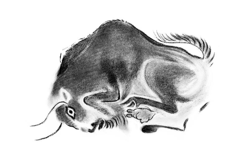 Bison illustration de vecteur