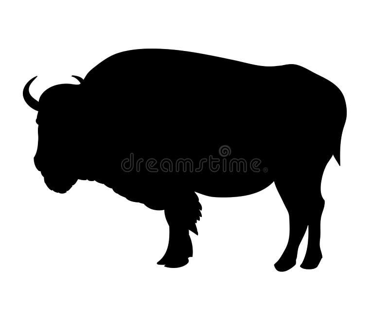 Bison illustration libre de droits
