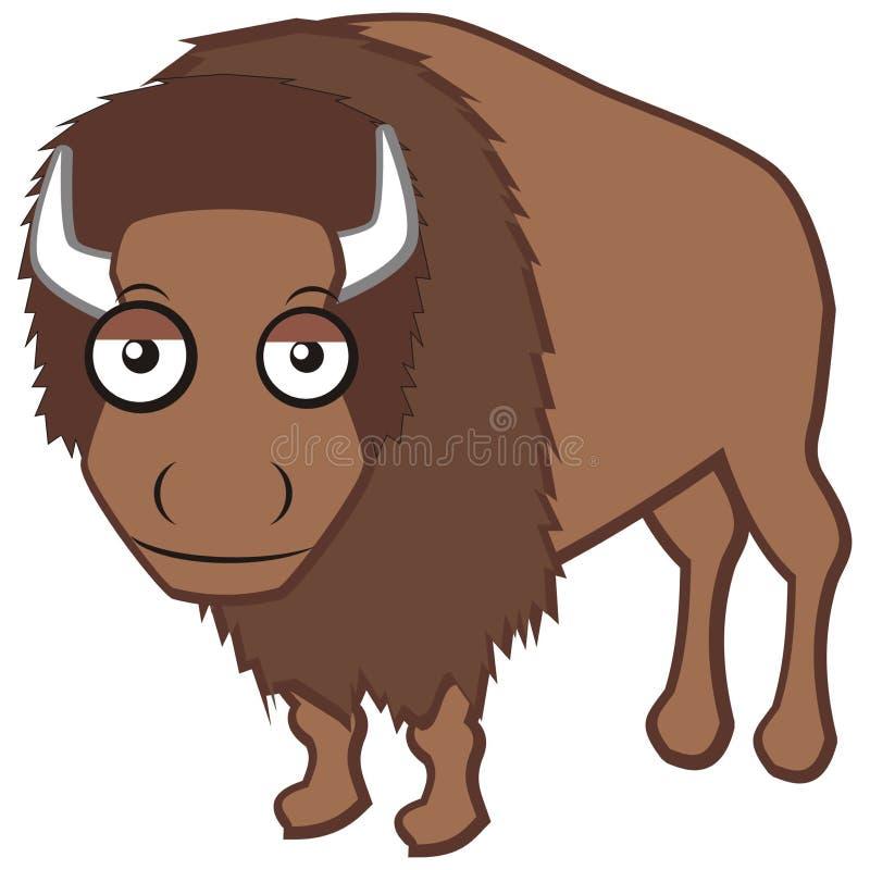 Bisonte libre illustration