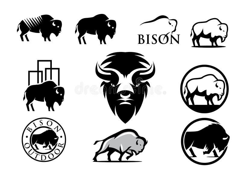 Bisonte americano libre illustration