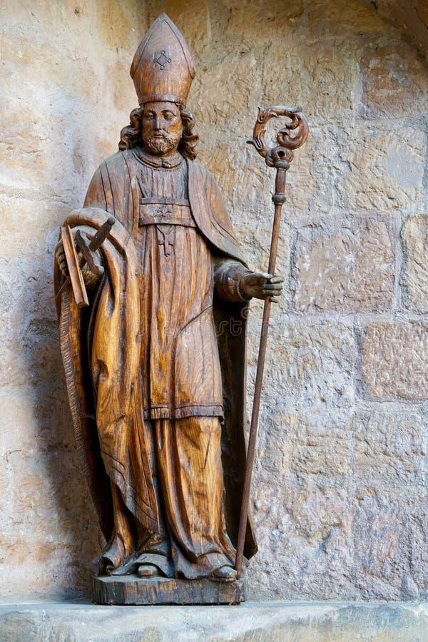 Bispo de madeira de Fritzlar foto de stock royalty free