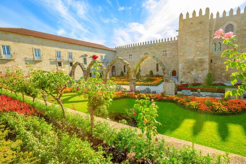 Bisschoppelijk Paleis in Braga royalty-vrije stock foto's